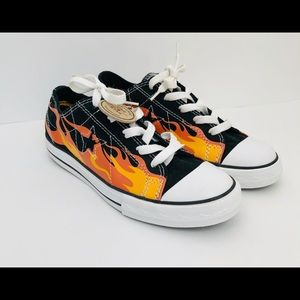 Converse One Star Flames Youth 5 Women's 7